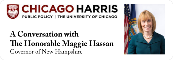 Join us April 17, 2015 for this talk with  recently re-elected Maggie Hassan, one of only six women governors nationwide. For more information, click here: https://universityevents.wufoo.com/forms/a-conversation-with-governor-hassan.